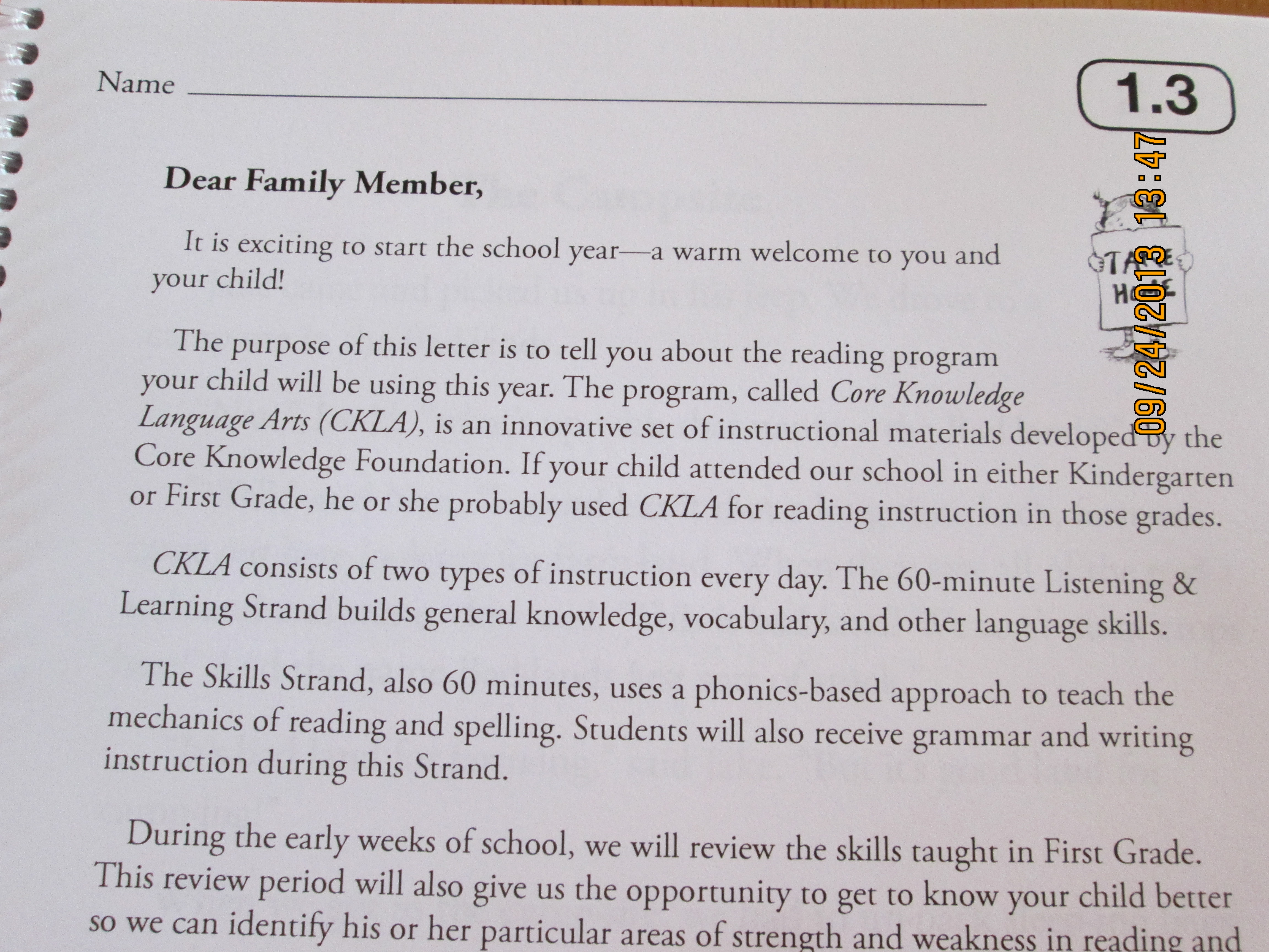 Engage Ny Parent Letter